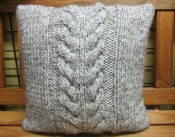 Cabled Cushion