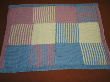 Squared Baby Blanket